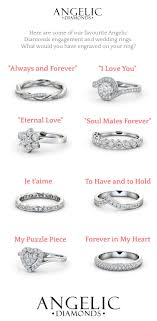 wedding gift engraving quotes wedding rings unique carved wedding bands wedding ring