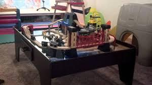 Imaginarium Mountain Rock Train Table Train Table Youtube