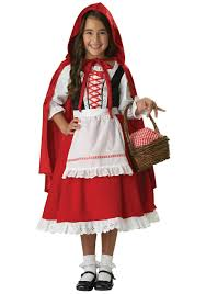 halloween costumes for girls scary little red riding hood costumes halloweencostumes com