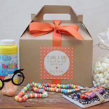 wedding favors for kids set of 6 kids wedding boxes any color kids wedding favor