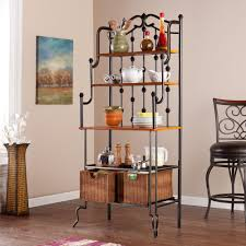 Contemporary Bakers Rack Baker U0027s Racks Kitchen U0026 Dining Room Furniture The Home Depot