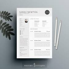 Indesign Resume Templates Free The Best Cv U0026 Resume Templates 50 Examples Design Shack