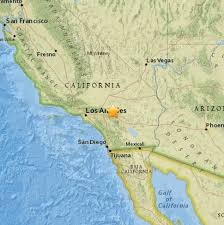 Elac Map Breaking Earthquake Felt In The Victor Valley Victor Valley