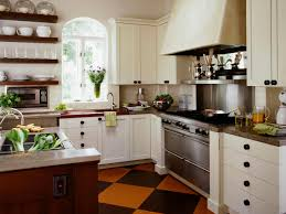 Wall Colors For Kitchens With White Cabinets Cottage Kitchens Hgtv