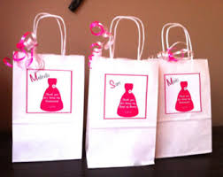 bridal party gift bags set of 4 bridal party gift bags bridesmaid gift wedding
