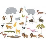 stickers animaux chambre bébé stickers jungle et stickers savane stickers animaux deco chambre enfant
