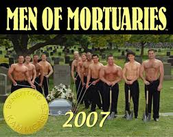 men calendar men of mortuaries calendar raises funds for breast cancer the