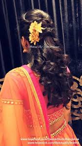 hairstyles for girl engagement pin by asha latha on bridal reception hair styles pinterest