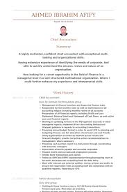 Senior Accountant Resume Sample by Chef Comptable Exemple De Cv Base De Données Des Cv De Visualcv