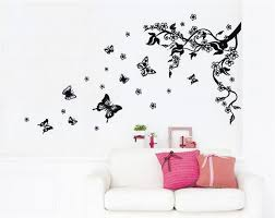 delicate wall decal designs butterfly amazing adorable
