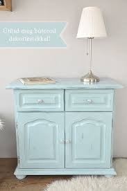 Shabby Chic Blue Paint by Shabby Chic Cupboard How Paint Your Cupboard With Pentart Dekor