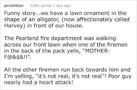firefighter nearly shits himself a lawn ornament album on