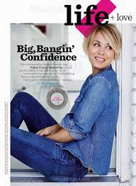 Magazine Usa Arts Cross Stitch Kaley Cuoco Women U0027s Health Magazine Usa