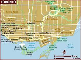 map usa lonely planet map of toronto