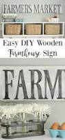 easy diy wooden farmhouse sign tutorials craft and fun diy easy diy wooden farmhouse sign