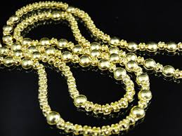 yellow diamond necklace images Yellow diamond rosary necklace pendant set in 10k 10 0ct jpg