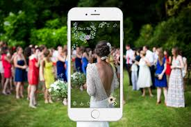 how to design your own wedding filter on snapchat arabia weddings