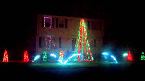 christmas lights show in wilmington ma 2011 youtube