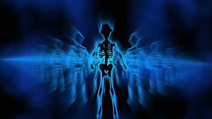 sexy color silhouette of sexy female skeletons vj dancing background disco vj