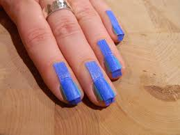 scotch magic nails art deco tutorial nail art tape designs 2