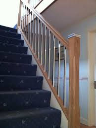 Chrome Banister Before U0026 After Gallery Staircase Replacements Wirral Keving