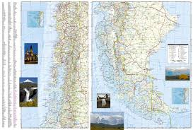 chile national geographic adventure map national geographic