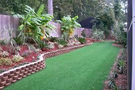 Landscaping Ideas For Backyard Tropical Backyard Landscaping Ideas