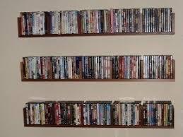 Dvd Movie Storage Cabinet Dvd Shelf Wall Mount Foter