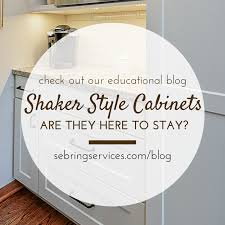 How To Make Shaker Style Cabinets Shaker Style Cabinets Are They Here To Stay Home Remodeling