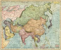 A Map Of Asia by Map Of Asia 1896 Stock Photo 492441481 Istock