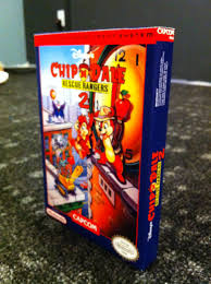chip n dale rescue rangers chip n dale rescue rangers 2 box my games reproduction game boxes