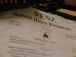 Hutch Menu Place 1 U2026 The Venz Rabbit Hutch Restaurant Place Memory The Blog