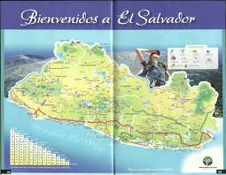Tourist Map Of San Francisco by El Salvador Tourist Map El Salvador U2022 Mappery