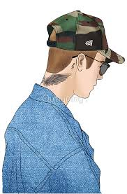 justin bieber drawing de outlyning designs sub bows