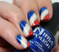 36 best fourth of july acrylic nail art images on pinterest 4th