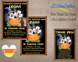 halloween thank you cards free halloween party invitation templates