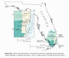 louisiana florida map effects of hurricane andrew 1992 on wetlands