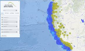 Ocean Depth Map West Coast Governors Alliance On Ocean Health A Voice And