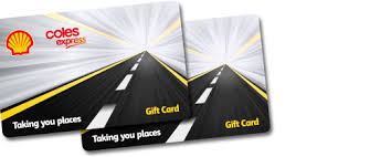 gasoline gift cards coles express services gift card