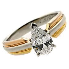 model cincin berlian mata satu desain model cincin emas terbaru