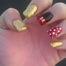 mickey nails u003c3 ima do these the week or so before i go to