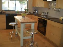 portable kitchen island with stools ideas portable kitchen island with seating natures design