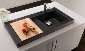 modern kitchen sink with drain boards and chrome faucet j mark ash modern farmhouse this sink features an ash sink ideas