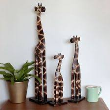 wooden giraffe ornament ebay