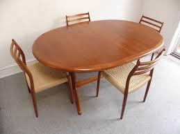 Teak Dining Room Tables Scandinavian Teak Dining Room Furniture Of Modern Teak