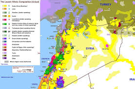 Beirut On Map The One Map That Shows Why Syria Is So Complicated The