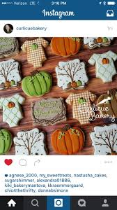 108 best fall cookies images on pinterest