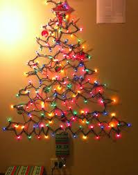 interior brilliant decoration small lighted trees