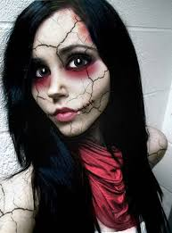 Scary Dolls Costumes Halloween 25 Scary Doll Makeup Ideas Creepy Doll