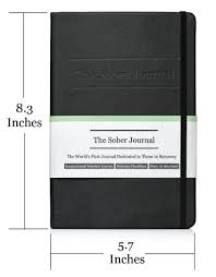 everyday quote from the notebook amazon com the sober journal best sobriety gift for anyone in